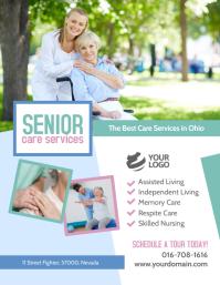 Senior Care Services Template Volante (Carta US)