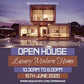 Real Estate Open House Instagram Template