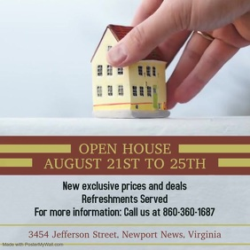 Real Estate Open House Video Ad