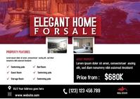 Real estate Post CARD Cartolina template