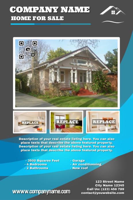 real estate poster