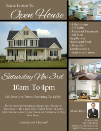 Customizable Design Templates For Open House PosterMyWall - Open house ad template