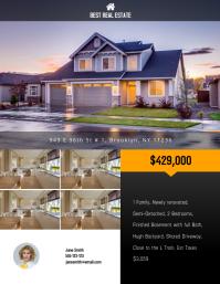 Real Estate Flyer Template Folder (US Letter)