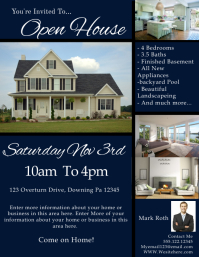 Similar Design Templates  Open House Templates
