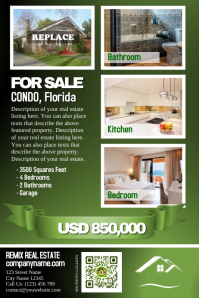 Real estate posters