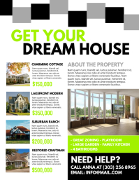 Apartment For Rent Sign · Real Estate Flyer Template  House For Rent Template