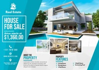 Real Estate Promotion A4 template