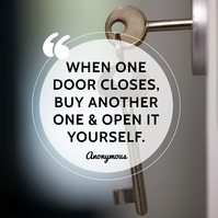 Real Estate Quotes Instagram Post template
