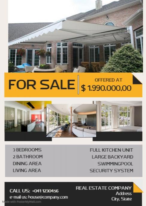 Real Estate SaleFflayer