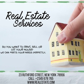 REAL ESTATE SREVICES