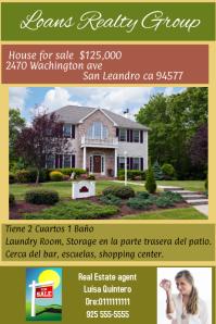 Real estate Template Plakat