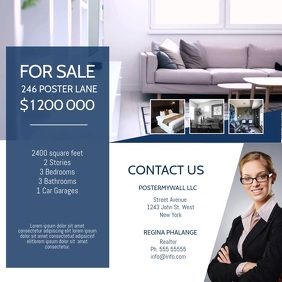 Real Estate Video ad Design template