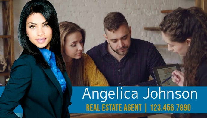 Real Estate Video Business Card