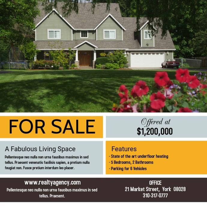 Real Estate Video Promo Template
