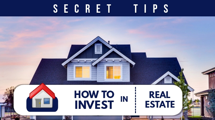 REAL ESTATE YOUTUBE THUMBNAIL template
