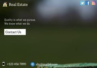 real estate1 A5 template
