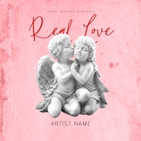 Real Love Mixtape/Album Cover Art Template