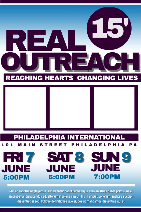 real outreach template