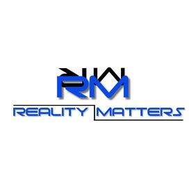 REALITY MATTERS LOGO template