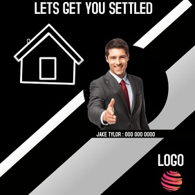 REALTOR AD DIGITAL VIDEO SOCIAL MEDIA Publicação no Instagram template