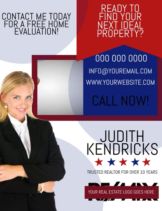 Realtor Ad Flyer DIGITAL VIDEO