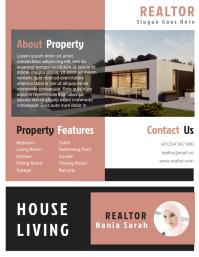 Realtor Agent Flyer Templates Design