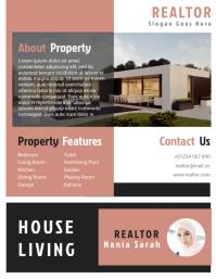 Realtor Agent Flyer Templates Design