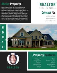 Realtor Agent Flyer Templates Design Fully Editable