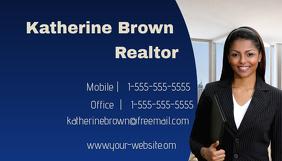 Customizable design templates for real estate business card realtor business card colourmoves