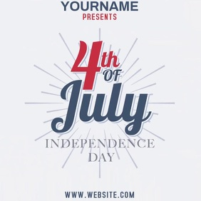 4TH OF JULY TEMPLATE Square (1:1)