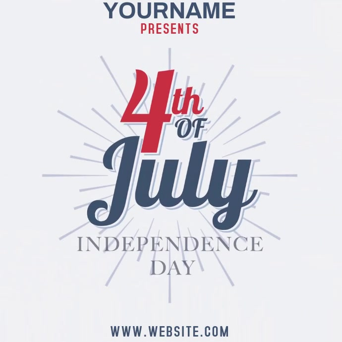 4TH OF JULY TEMPLATE