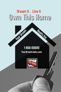 realtor sign/house for sale/open house/rent