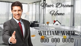 realtor VIDEO ad template Business Card