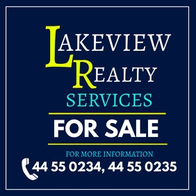 Realty Services Flyer Ad