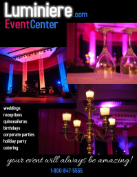 reception hall/event center/banquet hall
