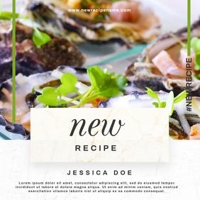 recipe instagram template