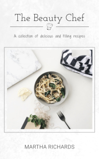 Recipes Cookbook Cover Kindle/Book Covers template