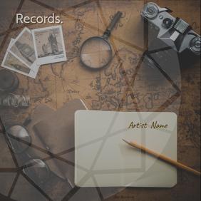 Records album art