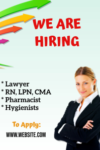Customizable Design Templates For Career Fair PosterMyWall - Recruitment brochure template