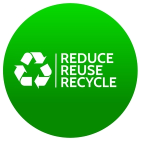 Recycle Sign Board Template Square (1:1)