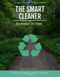 Recycling Awareness Event Flyer