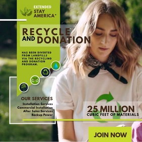 Recycling Campaign Advertisement Video