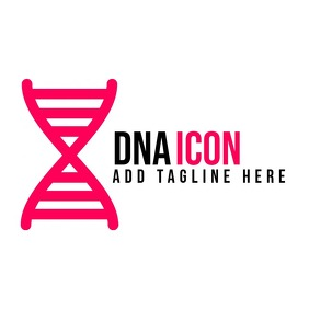 red and black dna logo