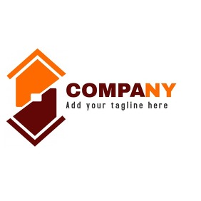 red and orange professional services logo