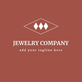 red and white jewelry logo