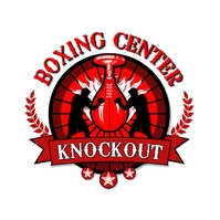 Red Boxing Academy Logo Template
