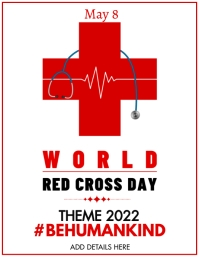 Red Cross Template Volantino (US Letter)