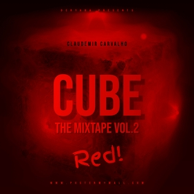 Red Cube Mixtape Cover Art