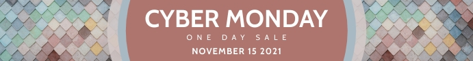Red cyber monday etsy banner template