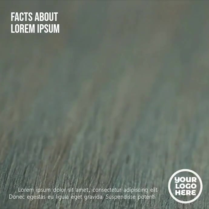 Red Dice Number Five video Template Instagram Post